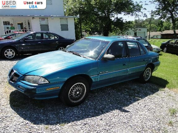 Maryville Auto Sales >> For Sale 1993 passenger car Pontiac Grand Am, Maryville, insurance rate quote, price 1200$. Used ...