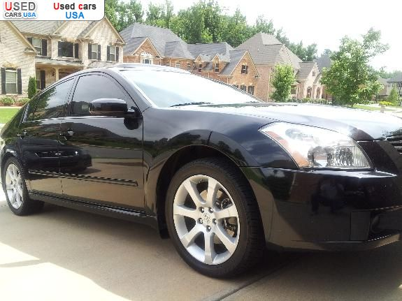 for sale 2008 passenger car nissan maxima lawrenceville insurance rate quote price 12000. Black Bedroom Furniture Sets. Home Design Ideas