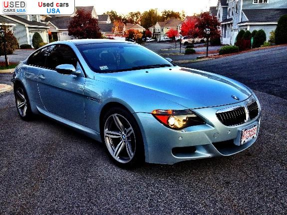 for sale 2007 passenger car bmw m6 clinton insurance rate quote price 38000 used cars. Black Bedroom Furniture Sets. Home Design Ideas