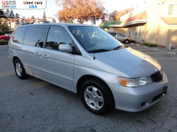 for sale 2001 passenger car honda odyssey san jose insurance rate quote price 5350 used cars. Black Bedroom Furniture Sets. Home Design Ideas