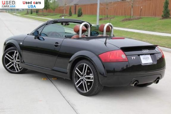 for sale 2002 passenger car audi tt houston insurance rate quote price 7495 used cars. Black Bedroom Furniture Sets. Home Design Ideas