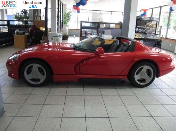 for sale 1992 passenger car dodge viper gainesville insurance rate quote price 54850 used cars. Black Bedroom Furniture Sets. Home Design Ideas